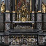 19. Gisant de Pierre Canisius, chapelle du collège St-Michel (Photo : SJ-Bild)