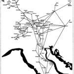 20. Carte des voyages de saint Canisius