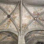 25. Plafond de la chapelle du St-Sépulcre, cathédrale de Fribourg, en restauration (© Service des biens culturels de l'état de Fribourg, Alain Kilar)
