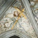 28. Restauration de la chapelle du St-Sépulcre par l'atelier Olivier Guyot. Etat avant traitement (Photo : atelier O. Guyot)