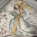 29. Restauration de la chapelle du St-Sépulcre par l'atelier Olivier Guyot. Etat après traitement (Photo : atelier O. Guyot)
