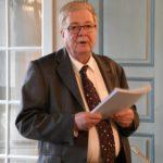 34. Le prévôt Jean-Jacques Martin, lors de la remise des résultats pour le concours du reliquaire (Photo : SJ-Bild)